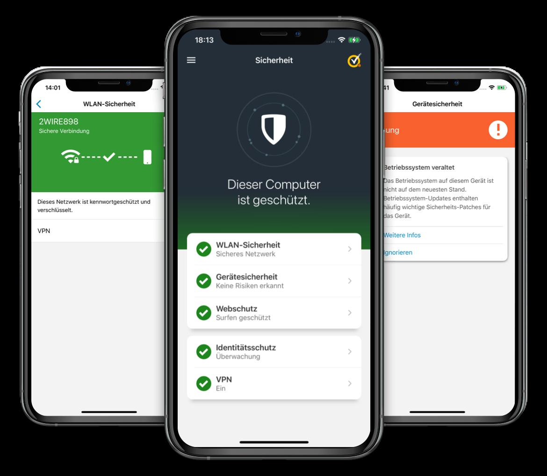 Norton Mobile Security F 252 R Ios Sicherheit Und