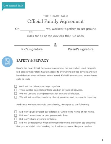 Family Agreement Image