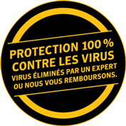 Garantie de suppression de virus Norton