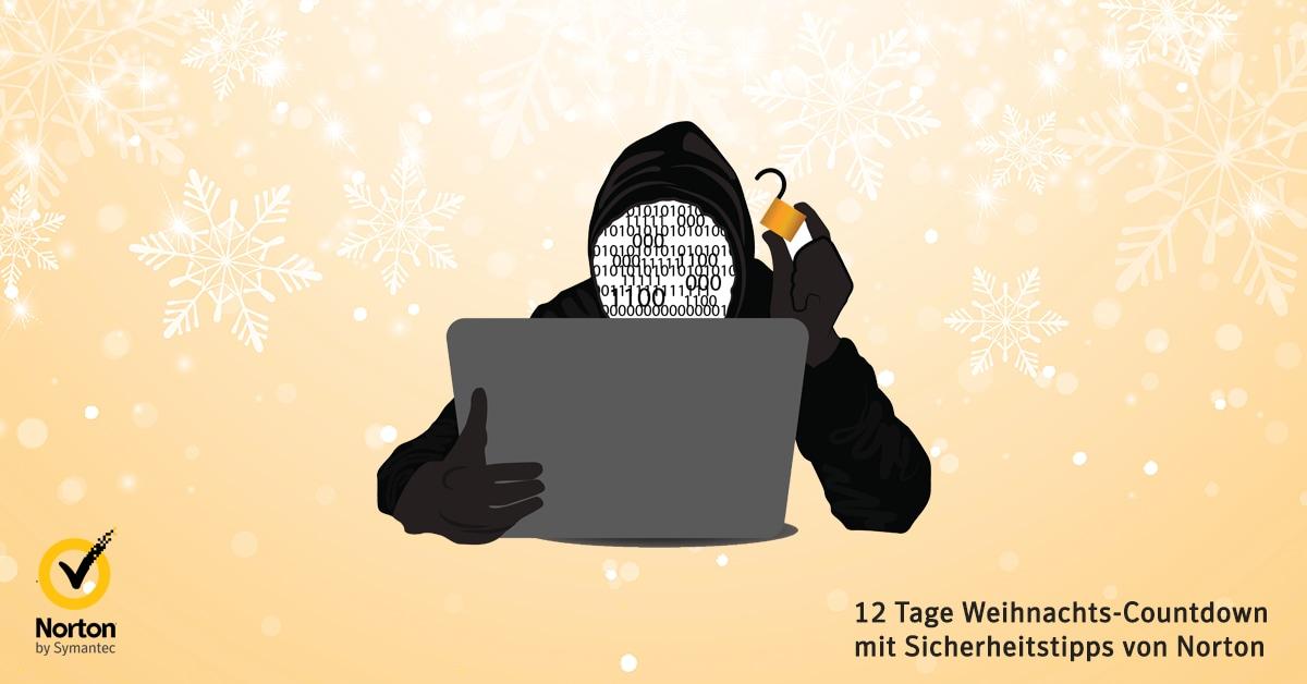 12 Tage Weihnachts-Countdown mit Sicherheitstipps von Norton