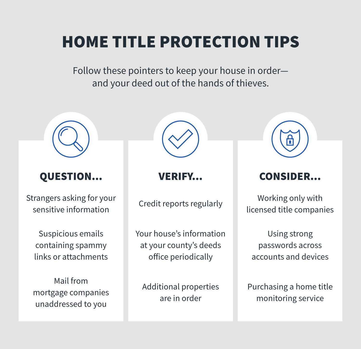 home title protection tips